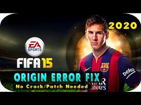 FIFA 15 Origin Error Fix | No Crack needed | PC - 2016 / 2017