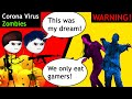 When A Gamer Challenges Coronavirus Zombies ZooKeeper Simulator