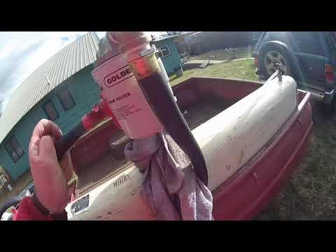 Fuel Tank Trailer Leak