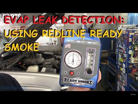 EVAP Leak Checking : Using A Redline Ready Smoke