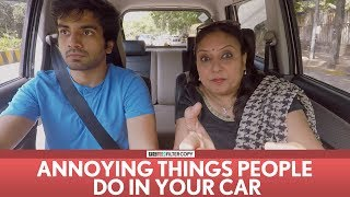 FilterCopy | Annoying Things People Do In Your Car | Ft. Ayush Mehra, Viraj Ghelani
