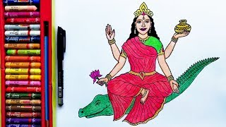 How To Draw Maa Kali Step By Step Mahakali Drawing By