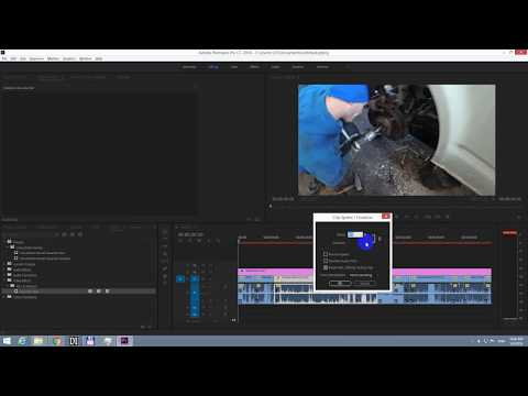 How to increase video frames per second (Premiere Pro, 29 fps to 50 fps)