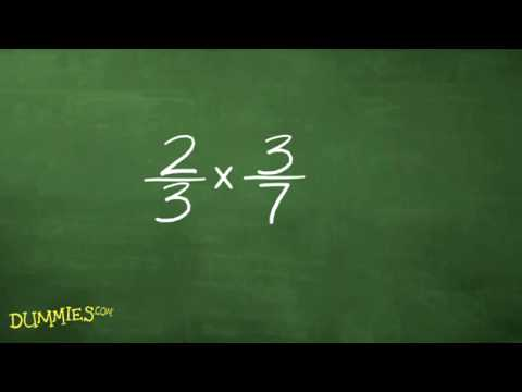How to Multiply and Divide Fractions in Algebra For Dummies