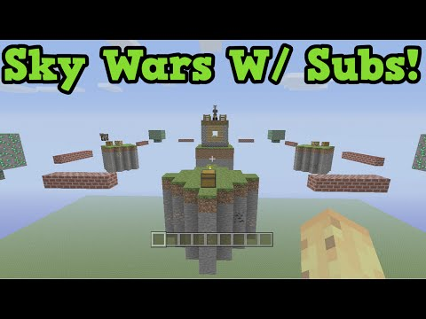 Minecraft Xbox Sky Wars LIVE - Playing with Subscribers