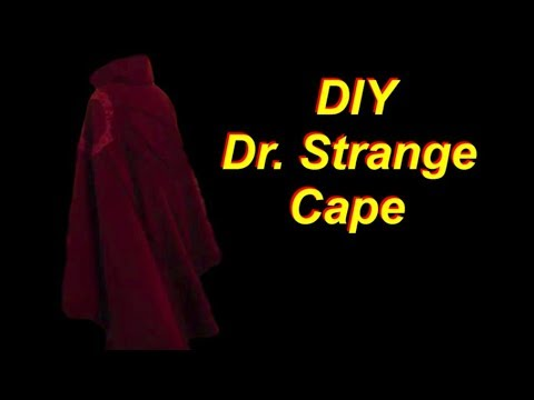 Dr Strange Costume Tutorial Cape