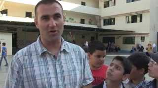 "Volunteers for Syrian Refugees Students in Lebanon ""Tuyoor Al-Amal School"