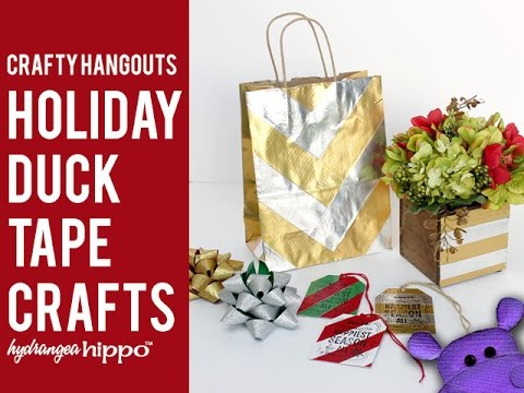 Holiday Duck Tape Projects #DuckTapeHOA
