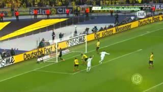 [German Cup 2015] Borussia Dortmund vs Wolfsburg 1-3 - La Finale