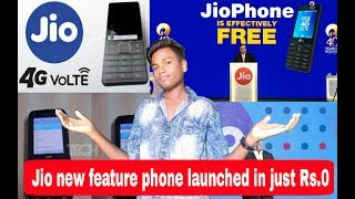 SAT-TECH-NEWS#04| JIO new feature phone launched @just ₹0