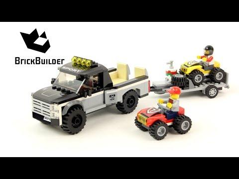 Lego City 60148 ATV Race Team - Lego Speed Build