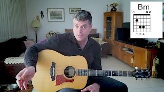 דודו טסה / בסוף מתרגלים להכל - שיעור גיטרה