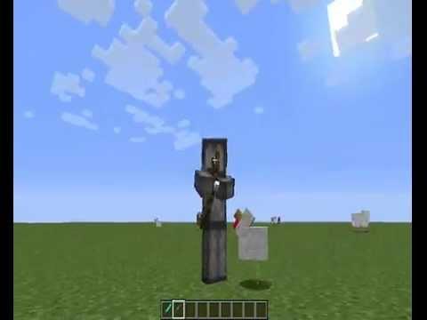 Minecraft : Presentation du mod animated player 1.5.2