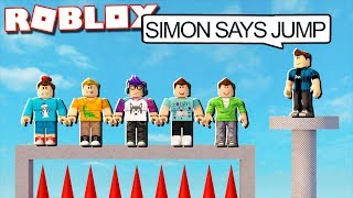 IMPOSSIBLE SIMON SAYS IN ROBLOX!