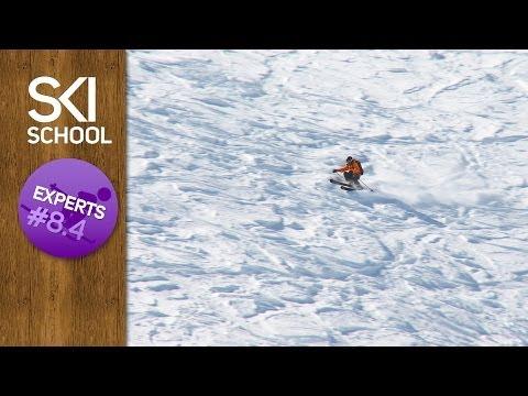 Expert Ski Lessons #8.4 - Skiing Variable Snow / Chopped up Powder / Crud