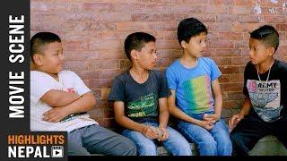 पुलिसलाई बेवकुफ बनायो - Nepali Movie DEEPJYOTI Scene | Puskar, Rajani, Khusbu