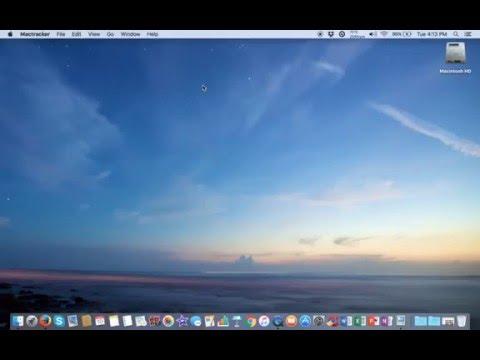 QuickTime Screen Capture Test On My Retina MacBook Pro