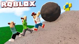 Roblox Adventures - CLIMB 9999 FEET UP THE HILL IN ROBLOX! (Climb the Hill)
