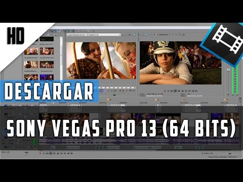 Descargar Sony Vegas Pro 13 | MEGA | Español | 64 Bits Full | HD