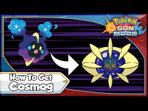 Pokemon Sun and Moon - How To Get Cosmog & Cosmoem EASY! [SM Tips & Tricks]