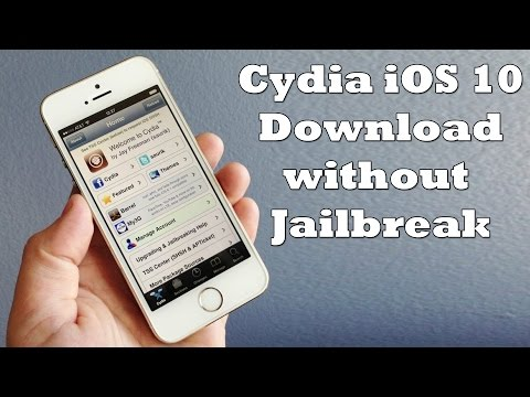 How to Install Cydia on iPhone iOS 10 without Jailbreak [Working Method]