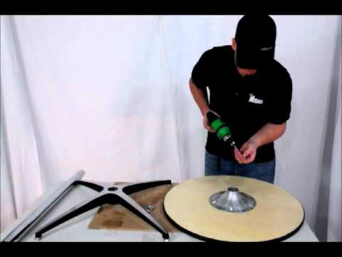 Midas Event Supply Elite Wood Pedestal Table assembly instructions video