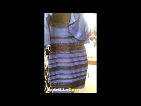ANSWER about COLOR of Dress Blue Or White