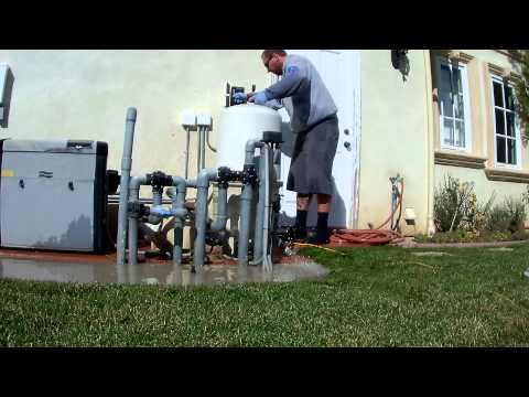 Ultimate Pool Guy HD - Filter Cleaning Pentair 4000 Series - Time Lapse