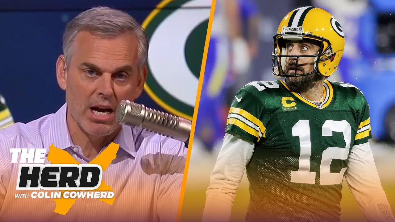 Colin's solution to Aaron Rodgers-Packers drama, Sam Darnold's future in Carolina   NFL   THE HERD
