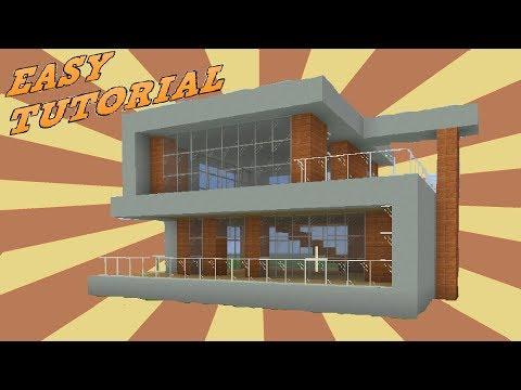 Minecraft Beach House Tutorial