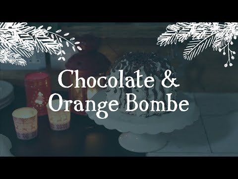 Chocolate & Orange Bombe