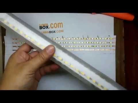 Cara Buat Lampu Neon LED Murah dan Mudah