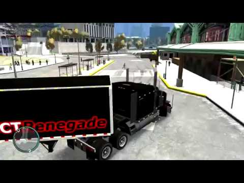 GTA IV Truck and Trailer