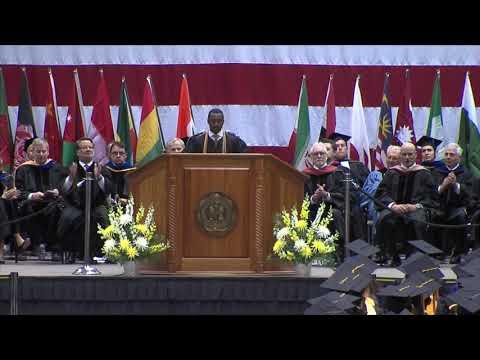 Commencement - Spring 2018 - Student Speaker