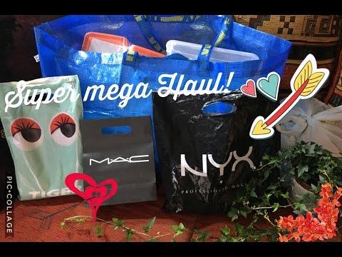 Super mega Haul! 🛍 | NYX, MAC, TIGER e IKEA! 💸 | Makeup e non solo! 😉