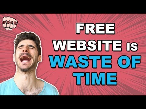 5 Reasons Why Free Website Is Waste of Time (also free domain & hosting)