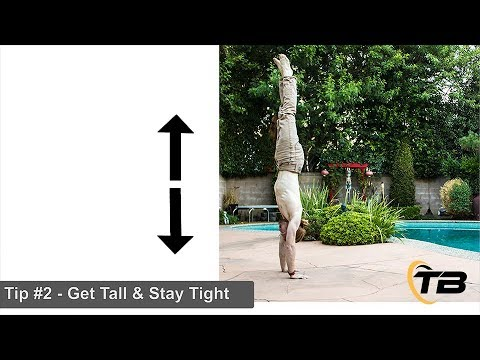 3 Drills To Master Your Handstand With Frank Grey - Tapp Brothers