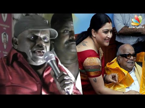 Xxx Mp4 Kushboo Served As A Maid For Karunanidhi Actor Senthil Comedy Speech TN Election 2016 3gp Sex