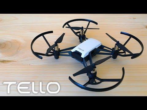 TELLO Drone Review (DJI & RYZE) Unboxing + Review