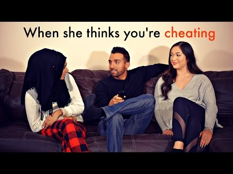 When she thinks you're cheating | Sham Idrees