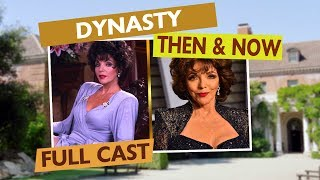 DYNASTY FULL CAST - Then & Now
