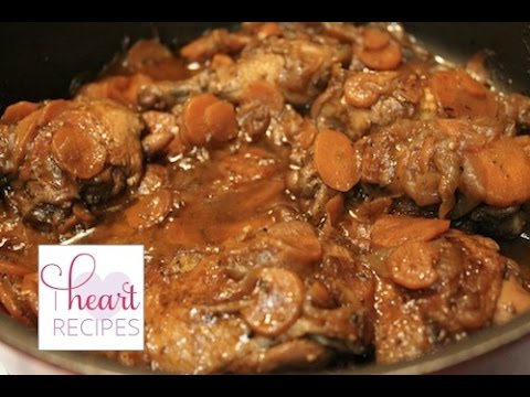 Brown Stew Chicken - I Heart Recipes