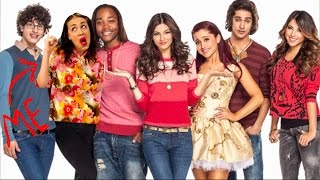 how i got on nickelodeon met ariana grande
