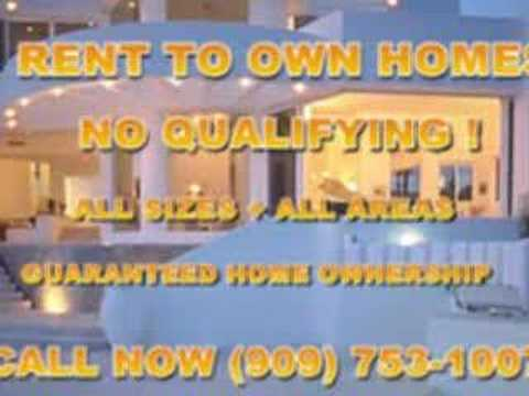 RENT TO OWN HOMES, CONDOS, AND HOUSES