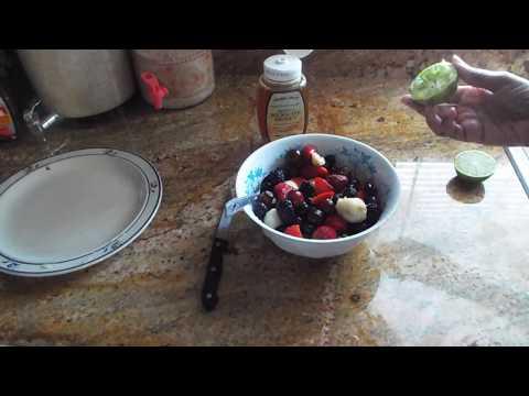 Rainbow Fruit Salad With Honey Lime Dressing Thank you Tasty