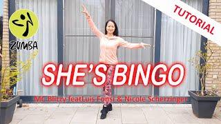 Tutorial She's Bingo   Luis Fonsi & Nicole Scherzinger   Uitleg danspasjes   Dance Passion Zumba