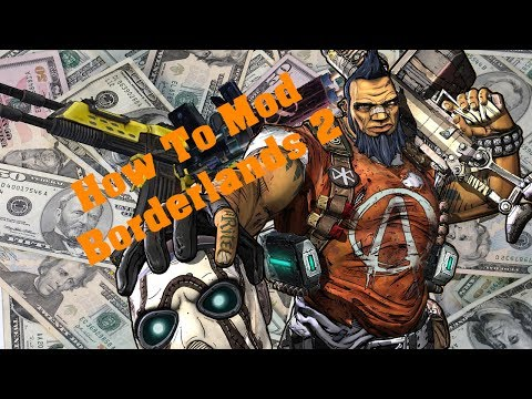 How To Mod Borderlands 2 With a USB (Xbox 360/PS3/PC) OLD!