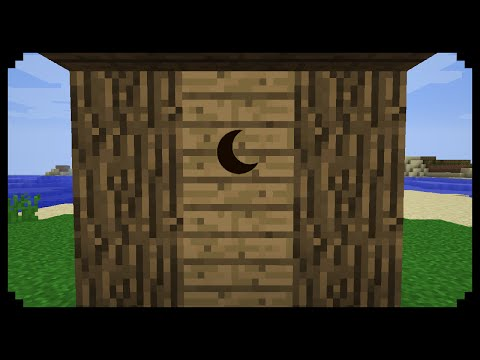 ✔ Minecraft: How to make an Outhouse
