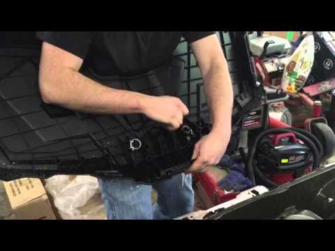 2015 Polaris Sportsman 570 Front Brush Guard Install