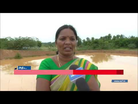 Adigathur Panchayat head creates ponds to increase ground water level   News7 Tamil